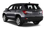 Car pictures of rear three quarter view of 2019 Honda Passport EX-L 5 Door SUV Angular Rear
