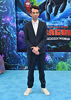 "LOS ANGELES, CA. February 09, 2019: Jay Baruchel at the premiere of ""How To Train Your Dragon: The Hidden World"" at the Regency Village Theatre.<br /> Picture: Paul Smith/Featureflash"