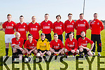 Asdee Rovers at the Greyhound Bar KO Cup 1st Round match against Fenit Samphires in Fenit on Sunday