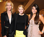 From left: Corliss Nettles, Jessica Carameros and Marmar Kahkeshani at the 2010 Best Dressed Luncheon and Neiman Marcus Fashion show at the Westin Galleria Hotel Wednesday March 31,2010. (Dave Rossman Photo)