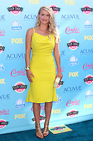 LOS ANGELES - AUG 11:  Leven Rambin at the 2013 Teen Choice Awards at the Gibson Ampitheater Universal on August 11, 2013 in Los Angeles, CA