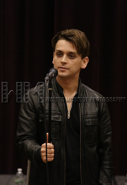 Michael Longoria attend 'The View Upstairs' sneak preview and panel discussion at The LGBT Community Center on February 1, 2017 in New York City.