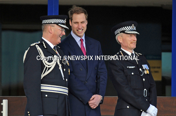 "PRINCE WILLIAM.Attend a Passing Out Parade at Hendon Police Training College..The Prince reviewed new graduation officers at their passing out parade as well as meeting a dog division, mounted horse division and a motorbike unit..William got a surprise when one of the horses sneezed on him, leaving his suit speckled with horse saliva. Hendon Police Training College, London_06/03/2009..Mandatory Credit Photo: ©DIAS-NEWSPIX INTERNATIONAL..Please telephone : +441279324672 for usage fees..**ALL FEES PAYABLE TO: ""NEWSPIX INTERNATIONAL""**..IMMEDIATE CONFIRMATION OF USAGE REQUIRED:.Newspix International, 31 Chinnery Hill, Bishop's Stortford, ENGLAND CM23 3PS.Tel:+441279 324672  ; Fax: +441279656877.Mobile:  07775681153.e-mail: info@newspixinternational.co.uk"