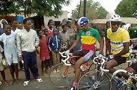 - cyclist tour of Senegal....- giro ciclistico del Senegal