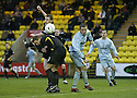 02/02/2008    Copyright Pic: James Stewart.File Name : sct_jspa11_livingston_v_partick_th.DES MCCAFFERY AND CRAIG JAMES COMBINE TO BEAT SIMON DONNELLY TO THE BALL.James Stewart Photo Agency 19 Carronlea Drive, Falkirk. FK2 8DN      Vat Reg No. 607 6932 25.Studio      : +44 (0)1324 611191 .Mobile      : +44 (0)7721 416997.E-mail  :  jim@jspa.co.uk.If you require further information then contact Jim Stewart on any of the numbers above........