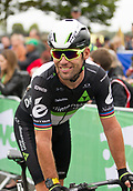 6th September 2017, Mansfield, England; OVO Energy Tour of Britain Cycling; Stage 4, Mansfield to Newark-On-Trent;  Mark Cavendish of Dimension Data is happy with his result in todays stage