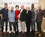 Tony Yazbeck, John Kander, Irina Dvorovenko, David Thompson, Susan Stroman, Teagle F. Bougere,  and Peter Friedman attends the press photocall for 'The Beast In The Jungle' at the New 42nd Street Studios on April 3, 2018 in New York City.