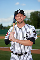 Jackson Generals Drew Ellis (29) poses for a photo before a Southern League game against the Mississippi Braves on July 23, 2019 at The Ballpark at Jackson in Jackson, Tennessee.  Jackson defeated Mississippi 2-0 in the first game of a doubleheader.  (Mike Janes/Four Seam Images)