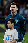 Argentina's Leo Messi during International Adidas Cup match between Argentina and Venezuela at Wanda Metropolitano Stadium in Madrid, Spain. March 22, 2019. (ALTERPHOTOS/A. Perez Meca)