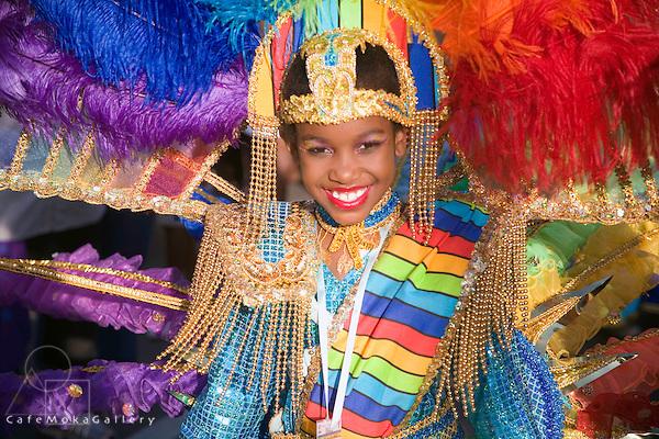 Trinidad Junior Carnival; Girl Individual; Rainbow; Band 'Wonders of the World' Gerard Kelly; St James; Trinidad