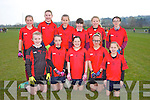 Allianz Cumann na mBunscol Finals at the John Mitchels GAA ground on Friday Pictured Fossa NS  Killarney - Aoife Doody, Anna Clifford, Sarah Sheahan, Sadie Myers, Jodie Sheahan, Maude Kelly, Sarah O'Neill, Ciara Kennelly, Saoirse Bennett, Aoife Kissane, Lucy McGuire