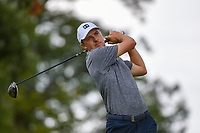 Jordan Spieth (USA) watches his tee shot on 6 during Rd3 of the 2019 BMW Championship, Medinah Golf Club, Chicago, Illinois, USA. 8/17/2019.<br /> Picture Ken Murray / Golffile.ie<br /> <br /> All photo usage must carry mandatory copyright credit (© Golffile   Ken Murray)