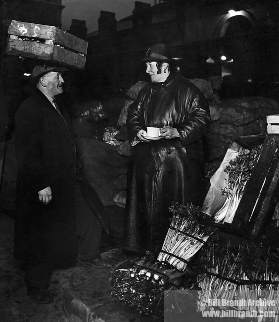 Covent Garden market, 1954