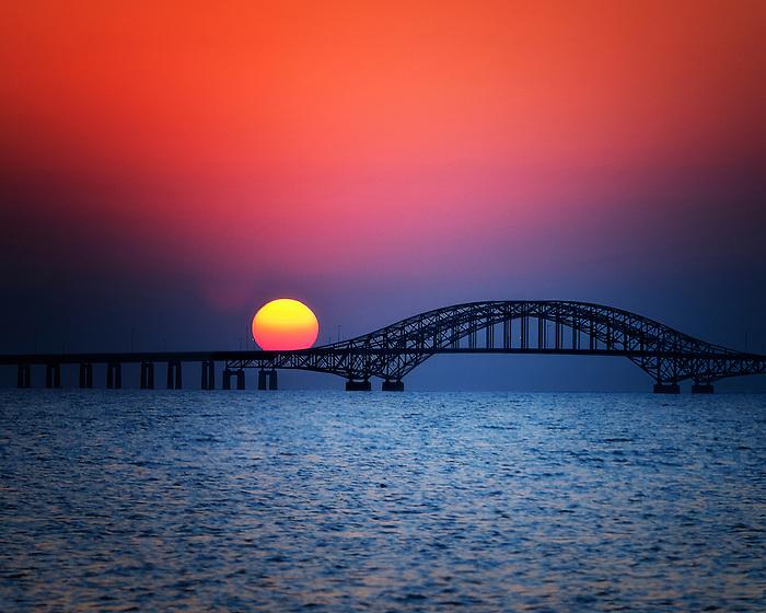 Hello Sun on the Side of the Robert Moses Bridge in Babylon