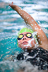 Cottonwood's Alexandra Harries competes in the 100 yard IM race during the 53rd annual Country Club Swimming Championships on Monday, Aug. 6, 2012, in Kearns, Utah. (© 2012 Douglas C. Pizac)