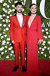 NEW YORK, NY - JUNE 11:  Tom Sturridge and Olivia Wilde attend the 71st Annual Tony Awards at Radio City Music Hall on June 11, 2017 in New York City.  (Photo by Walter McBride/WireImage)