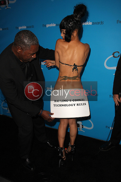Ernie Hudson, Bai Ling<br /> at the 2015 Geekie Awards, Club Nokia, Los Angeles, CA 10-15-15<br /> David Edwards/Dailyceleb.com 818-249-4998