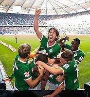 Fussball Bundesliga 2013/2014: Hamburger SV - SV Werder Bremen