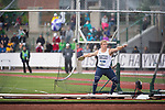 EUGENE, OR - JUNE 09: David Lucas of Penn State University competes in the discus during the Division I Men's Outdoor Track & Field Championship held at Hayward Field on June 9, 2017 in Eugene, Oregon. Lucas placed 9th with a 58.00 meter throw. (Photo by Jamie Schwaberow/NCAA Photos via Getty Images)