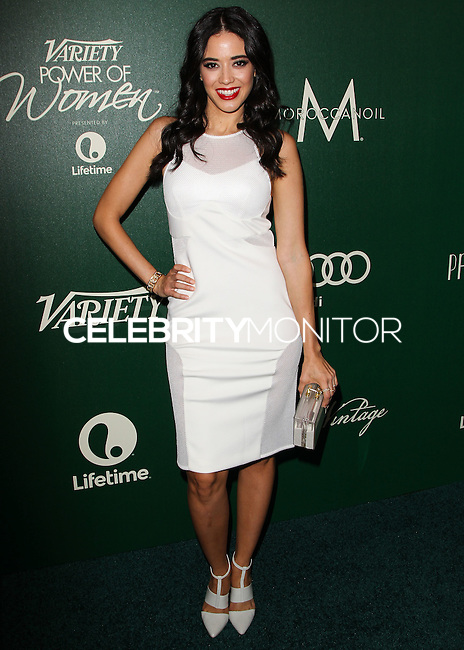 BEVERLY HILLS, CA, USA - OCTOBER 10: Edy Ganem arrives at the 2014 Variety Power Of Women held at the Beverly Wilshire Four Seasons Hotel on October 10, 2014 in Beverly Hills, California, United States. (Photo by Celebrity Monitor)