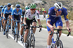 Tim Declercq (BEL) Deceuninck-Quick Step on the front of the peloton during Stage 3 of La Vuelta 2019 running 188km from Ibi. Ciudad del Juguete to Alicante, Spain. 26th August 2019.<br /> Picture: Luis Angel Gomez/Photogomezsport | Cyclefile<br /> <br /> All photos usage must carry mandatory copyright credit (© Cyclefile | Luis Angel Gomez/Photogomezsport)