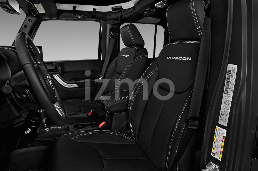 Front seat view of 2017 JEEP Wrangler-Unlimited Rubicon-Hard-Rock 5 Door SUV Front Seat  car photos