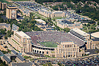 September 2, 2017; Notre Dame Stadium on a game day. (Photo by Matt Cashore/University of Notre Dame)