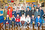AWARDS NIGHT: The St Patricks U12's team enjoying their awards night at their clubhouse in Blennerville on Friday seated l-r: Jamie Burke, Alex Walsh, Aaron Ferris, Eric Teahan, Joshua Loucher, Gary Fernane and Cathal O? Murchu. Centre l-r: Michael Murphy, James Stack, Brandon Boyle, Sean Dowling, Con Henson, Shane Doyle, Gary Ellis, Killian Quirke and Aidan O'Halloran. Back l-r: Sean Kelliher, Jake Foley, Niall Dowling, Eamon Williams, Roman Loucher, Eoghan Dillane, Tommy Walsh and Noel Byrne.