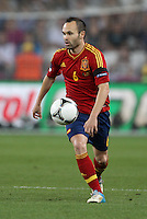 Midfielder of the national team of Spain Andrés Iniesta â?-6.