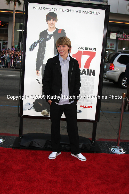Sterling Knight   arriving at the 17 Again Premiere at Grauman's Chinese Theater in Los Angeles, CA on April 14, 2009.©2009 Kathy Hutchins / Hutchins Photo....                .