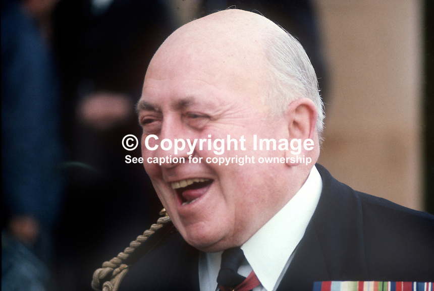 Commander C A R Shillington, ADC, aide de camp, Governors of N Ireland, May 1970. 197005000144. Also known as Rives Shillington.<br /> <br /> Copyright Image from Victor Patterson,<br /> 54 Dorchester Park, Belfast, UK, BT9 6RJ<br /> <br /> t1: +44 28 90661296<br /> t2: +44 28 90022446<br /> m: +44 7802 353836<br /> <br /> e1: victorpatterson@me.com<br /> e2: victorpatterson@gmail.com<br /> <br /> For my Terms and Conditions of Use go to<br /> www.victorpatterson.com