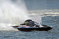 "Jay Gignac, GNH-55 ""Gi Wizz"" (Grand National Hydroplane(s) <br /> ••• Showing damage on the top front of the right sponson just before the left sponson lets go •••"
