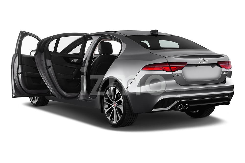 Car images close up view of a 2020 Jaguar XE S 4 Door Sedan doors