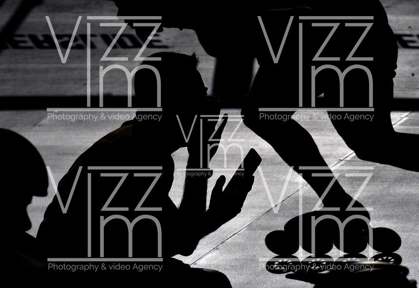BARCELONA- ESPAÑA; 03-07-2019: La Selección Colombia de Patinaje, se prepara bajo un intenso sol, en la pista del Patinódromo de Barcelona, España, para su participación en los Segundos World Roller Games. Competencias que se iniciaran el próximo 7 del presente mes. / The Colombian Skating Team, is preparing under an intense sun, on the track of the Barcelona Spain, Skateboard, for their participation in the Second World Roller Games. Competences that begin on the 7th of this month. Photo: VizzorImage / Luis Ramírez / Staff.