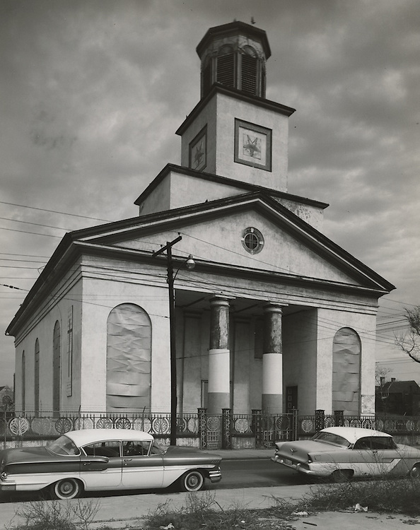 1962 March 02..Conservation.Downtown North (R-8)..Bank Street Baptist Church.501 Bank Street..HAYCOX - R. V. Fishbeck.NEG# C62-98-16.NRHA# 965..