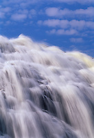 Magpie High Falls and clouds<br /> Wawa<br /> Ontario<br /> Canada