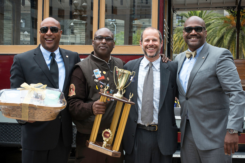The 50th Cable Car Bell Ringing Competition in San