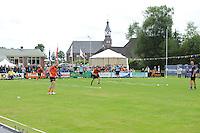KAATSEN: DAMWALD: kaatsvereniging Nut en Nocht, 16-08-2014, Hoofdklasse Heren, gewonnen door Johan van der Meulen, Renze Pieter Hiemstra en Hylke Bruinsma, overzicht, ©foto Martin de Jong