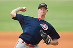 Greenville's Clay Buchholz winds up to deliver a pitch versus Kannapolis at Fieldcrest Cannon Stadium in Kannapolis, NC, Sunday, June 4, 2006.  Greenville defeated Kannapolis 7-6.