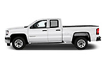 Car driver side profile view of a 2019 GMC Sierra 1500 Limited Base 4 Door Pick Up
