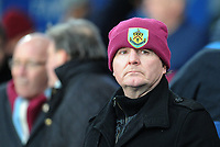 Burnley fan watches on <br /> <br /> Photographer Ashley Crowden/CameraSport<br /> <br /> The Premier League - Crystal Palace v Burnley - Saturday 13th January 2018 - Selhurst Park - London<br /> <br /> World Copyright &copy; 2018 CameraSport. All rights reserved. 43 Linden Ave. Countesthorpe. Leicester. England. LE8 5PG - Tel: +44 (0) 116 277 4147 - admin@camerasport.com - www.camerasport.com