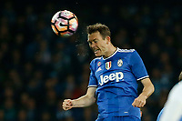 Stephan Lichtsteiner  during the  italian serie a soccer match,between SSC Napoli and Juventus       at  the San  Paolo   stadium in Naples  Italy , April 02, 2017