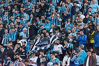 SÃO PAULO, SP, 27.08.2019 - PALMEIRAS-GRÊMIO- Torcida do Grêmio durante partida contra o Palmeiras em jogo válido pela volta das quartas de final da Copa Libertadores da América 2019 no Estádio do Pacaembu em São Paulo, nesta terça-feira, 27. (Foto: Anderson Lira/Brazil Photo Press)