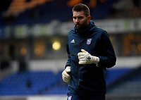 Ipswich Town's Bartosz Bialkowski during the pre-match warm-up <br /> <br /> Photographer Hannah Fountain/CameraSport<br /> <br /> The EFL Sky Bet Championship - Ipswich Town v Wigan Athletic - Saturday 15th December 2018 - Portman Road - Ipswich<br /> <br /> World Copyright © 2018 CameraSport. All rights reserved. 43 Linden Ave. Countesthorpe. Leicester. England. LE8 5PG - Tel: +44 (0) 116 277 4147 - admin@camerasport.com - www.camerasport.com