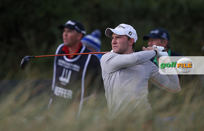 Maximilian  Kieffer (GER) during R3 at Kingsbarns of the 2014 Alfred Dunhill Links Championship, The Old Course, St Andrews, Fife, Scotland. Picture:  David Lloyd / www.golffile.ie