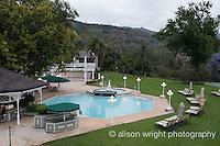 Africa, Swaziland, Malkerns. Nest organization artisan project. The Royal Swazi Villas hotel, where we stayed.