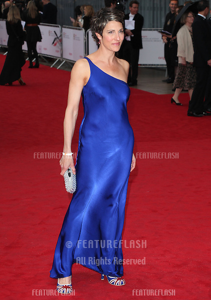 Tamsin Greig arriving for the TV BAFTA Awards 2013, Royal Festival Hall, London. 12/05/2013 Picture by: Alexandra Glen / Featureflash