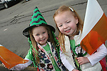 Isabelle and Katelyn O'Toole at the 2010 St Patrick's Day Parade...Photo NEWSFILE/Jenny Matthews.(Photo credit should read Jenny Matthews/NEWSFILE)....This Picture has been sent you under the condtions enclosed by:.Newsfile Ltd..The Studio,.Millmount Abbey,.Drogheda,.Co Meath..Ireland..Tel: +353(0)41-9871240.Fax: +353(0)41-9871260.GSM: +353(0)86-2500958.email: pictures@newsfile.ie.www.newsfile.ie.FTP: 193.120.102.198.