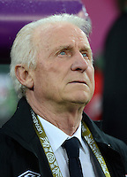 FUSSBALL  EUROPAMEISTERSCHAFT 2012   VORRUNDE Spanien - Irland                     14.06.2012 Trainer Giovanni Trapattoni (Irland)