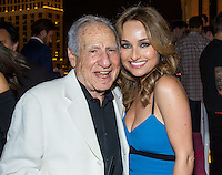 LAS VEGAS, NV - May 23 : Mel Brooks and Giada DeLaurentiis pictured at Drai's Beach Club & Nightclub grand opening at The Cromwell in Las Vegas, NV on May 23, 2014. ©  Kabik/ Starlitepics ***HOUSE COVERAGE***